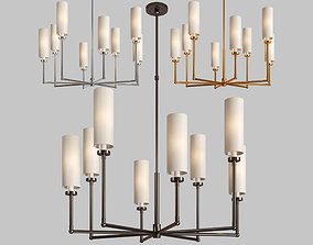 3D model Ziyi large chandelier
