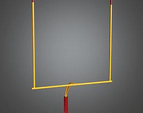 SAG - Football Goal 01a - PBR Game Ready 3D asset