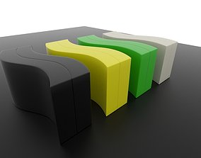 3D Eero Aarnio Cobacabana Table
