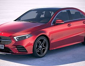 Mercedes-Benz A-Class L Sedan CN 2019 3D model