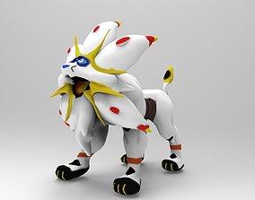 Solgaleo Pokemon 3D model