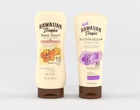 3D Hawaiian Tropic Sunscreen Lotion