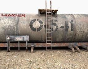 Oil Tank fuel tank 3D model