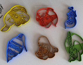 3D print model Molde Cortante para Galletas Fondant 1