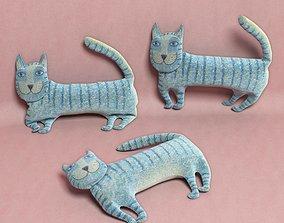 3D model kids cat toy 04