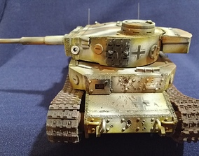 Tiger P tanks 3D print model