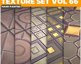 3D asset Tiles Vol 66 - Game PBR Textures
