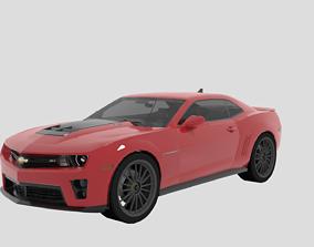 Camaro Z1 3D model rigged