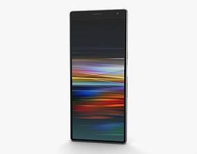 Sony Xperia 10 Plus Silver ultra 3D model