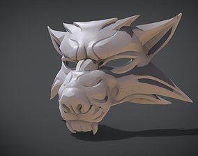 3D print model Witcher Wolf Mask