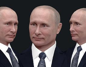 leader Vladimir Putin 3D printable model