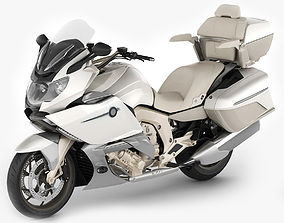 Generic Touristic Motorcycle 3D