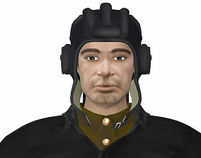 3D model trooper Grisha