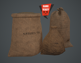 3D asset SACKS OLD Game Ready Lowpoly