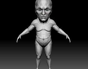 ao oni zbrush2021 ztl 3D model