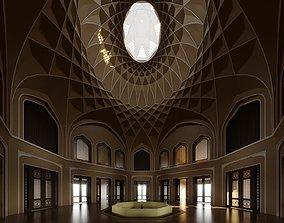Dowlat Abad Hall 3D asset