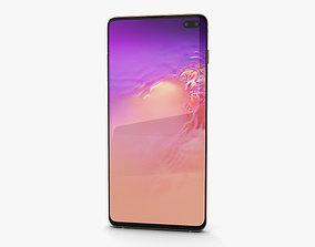 Samsung Galaxy S10 Plus Flamingo Pink 3D