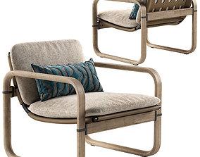Giorgetti Loop armchair 3D