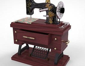 3D model musical sawing machine