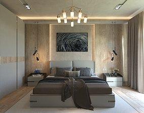 corona master bedroom 3D
