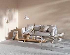 BeInspiration 128 sofa 3D model