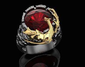 Ring Dragon tower 3D printable model