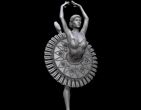 Ballerina 3D print and high poly