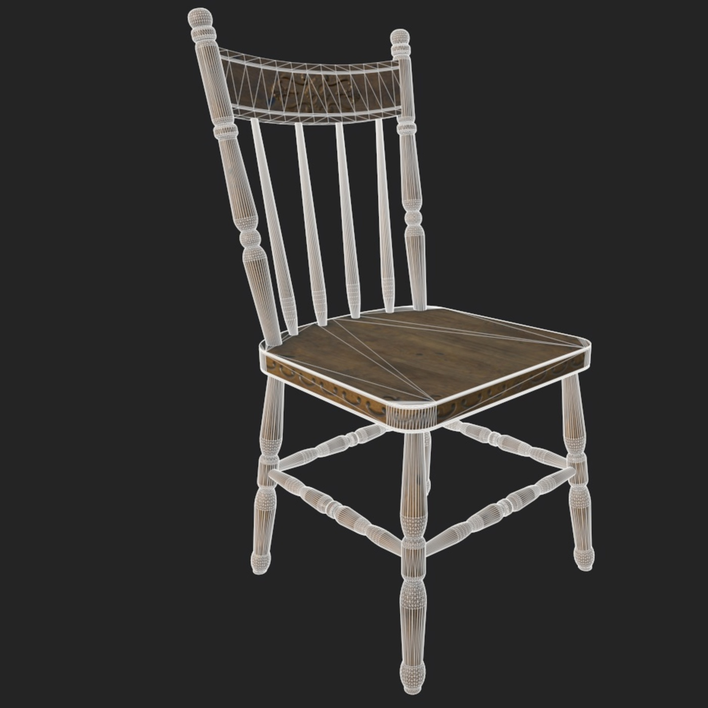 Antique Wooden Chair