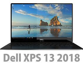 DELL XPS 13 2018 Black 3D model