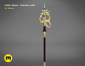 3D print model Priestess Staff Goblin Slayer anime