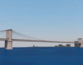 broadway 3D model Brooklyn Bridge