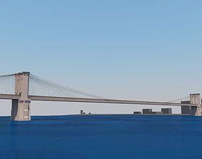 broadway 3D model Brooklyn Bridge