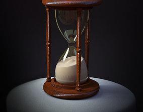 HourGlass 3D model clock