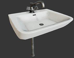 Sink PBR 3D asset