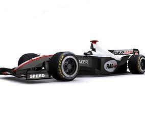 Formula One 3D asset