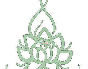 Lotus Flower Yoga 3D printable model