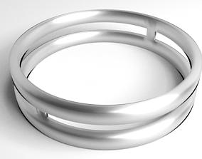3D model Ring Silver 9