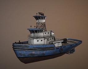 3D model Ship Tug
