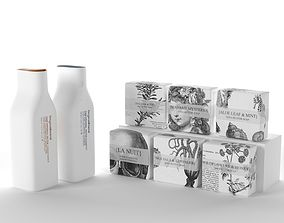 Shampoos and Packed Soaps 3D