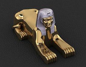 Ancient Egyptian Pharaoh Sphinx 3D print model