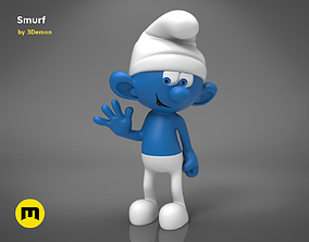 3D print model Smurf