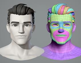 3D model Cartoon character base mesh