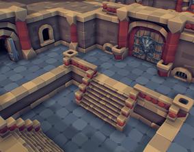 Modular Dungeon Set - Proto Series 3D asset