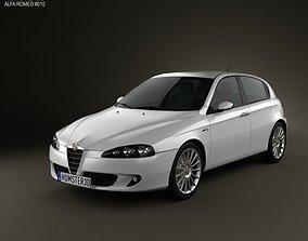 3D model Alfa Romeo 147 5-door 2009