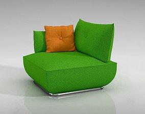 Fashion Green Chair 3D model