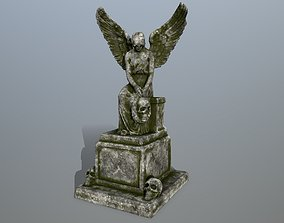 statue 3 3D model realtime