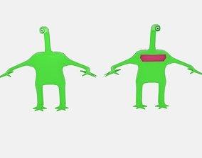 Long Neck Oneyed Alien 3D model