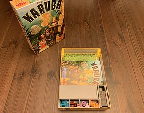 Karuba Board Game Organizer 3D printable model games