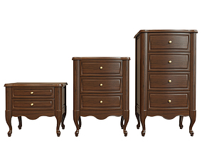 3D model Chest Of Drawers A 02