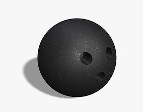 Bowling Ball 3D asset